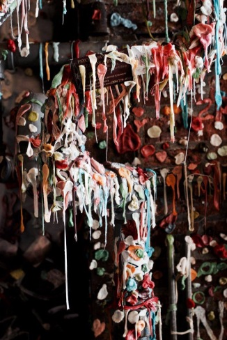 infamous Gum Wall